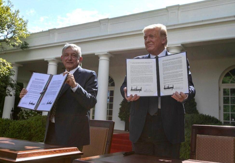 ¿Qué dice el documento firmado por AMLO y Trump?