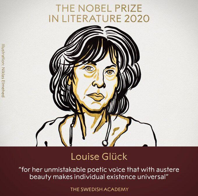 La poetisa Louise Glück, Premio Nobel de Literatura 2020