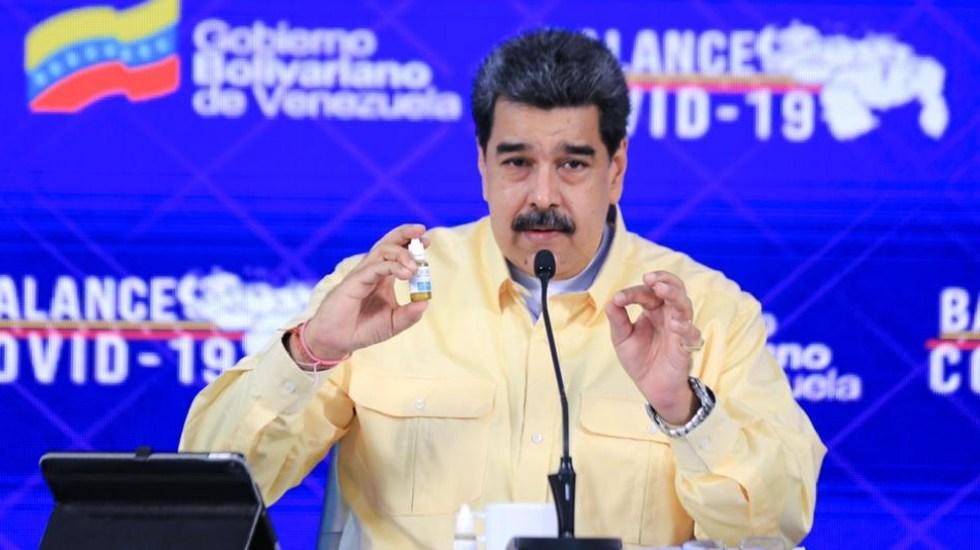 "Maduro presenta ""gotitas milagrosas"" contra COVID-19"