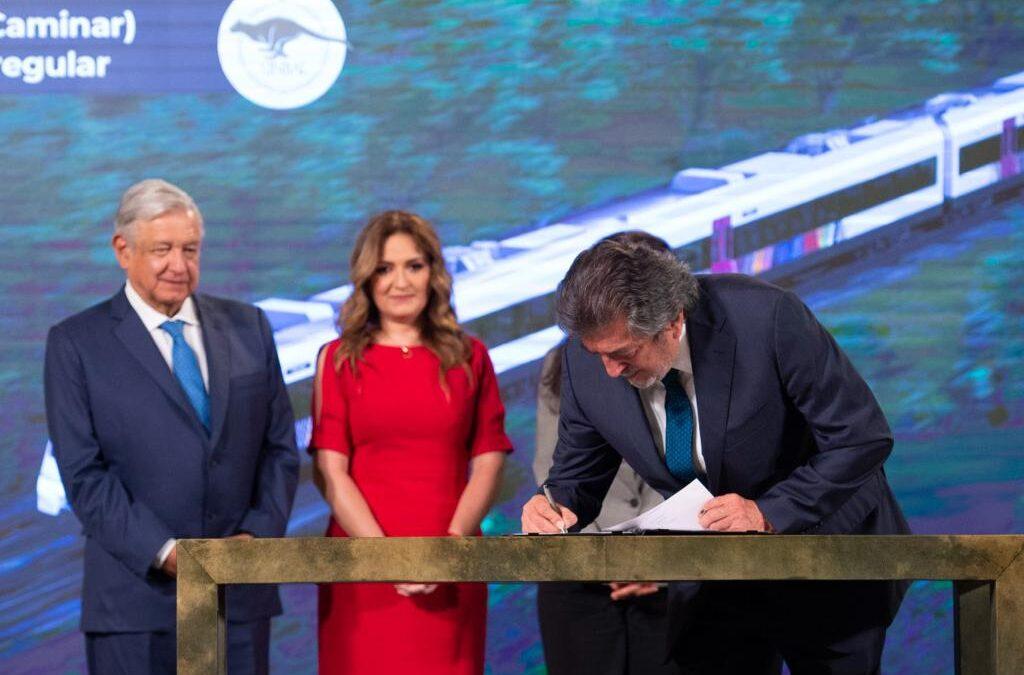 Vagones del Tren Maya serán construidos en México